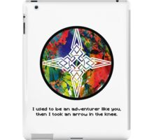 Took an Arrow in the Knee - Dawnstar Version iPad Case/Skin