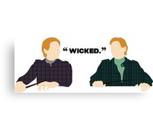 Wicked.  Canvas Print