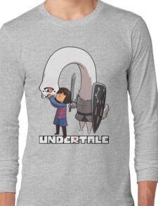Lesser Dog and Frisk Long Sleeve T-Shirt