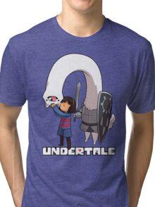 Lesser Dog and Frisk Tri-blend T-Shirt