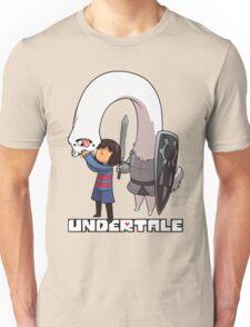 Lesser Dog and Frisk Unisex T-Shirt