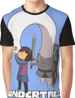 Lesser Dog and Frisk Graphic T-Shirt