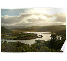Joe Mortelliti Gallery - Aire River, near Cape Otway, Otways Forest, Victoria, Australia.  Poster