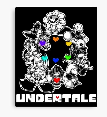 Undertale Canvas Print