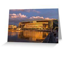 Docklands Etihad Stadium Greeting Card