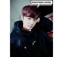 european bagel 2  Photographic Print