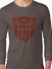 Transformers autobot Long Sleeve T-Shirt