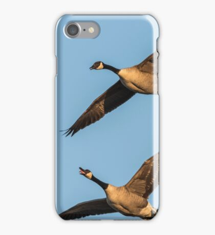 Spring Is Here Said The Geese iPhone Case/Skin
