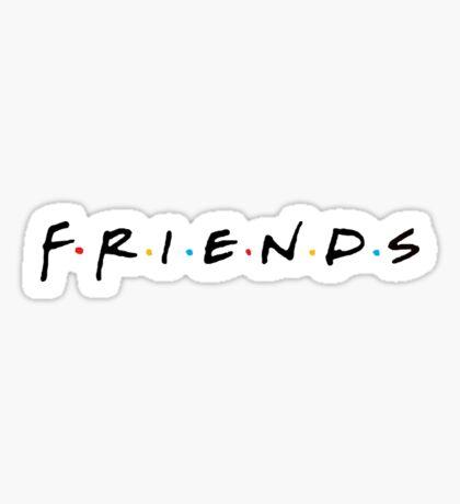 Friends Sitcom Sticker