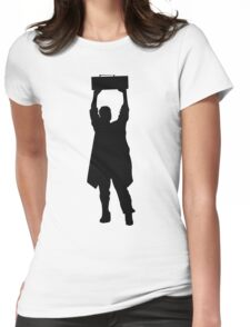 Say Anything- Boombox  Womens Fitted T-Shirt