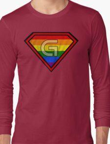SUPER GAY HERO Long Sleeve T-Shirt