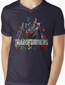 Transformers Mens V-Neck T-Shirt