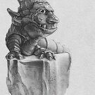 Troll Lizard Rock by Tom Godfrey