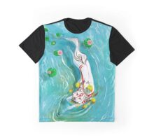 Swimming Ammy  Graphic T-Shirt