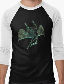 FLIGHT OF ICARUS - sun bleached Men's Baseball ¾ T-Shirt