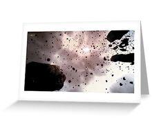 Asteroid Belt Greeting Card