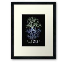 i love trees Framed Print