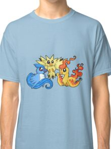 Pokemon Kanto legendary birds Classic T-Shirt