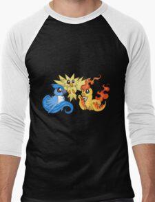 Pokemon Kanto legendary birds Men's Baseball ¾ T-Shirt