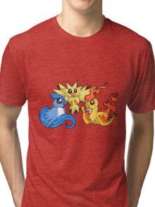 Pokemon Kanto legendary birds Tri-blend T-Shirt