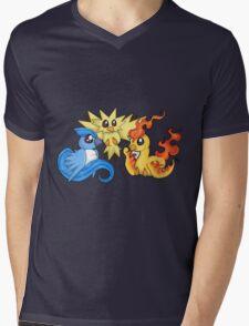 Pokemon Kanto legendary birds Mens V-Neck T-Shirt