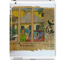 Through the windows and over the road. iPad Case/Skin