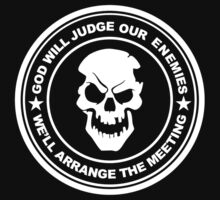god will judge our enemies we'll arrange the meeting One Piece - Short Sleeve