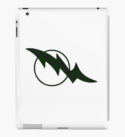 green squadron emblem iPad Case/Skin