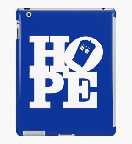 Hope - Doctor Who iPad Case/Skin
