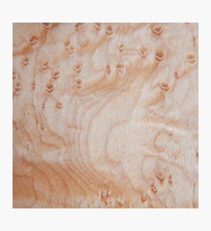 Unique eye maple wood design Photographic Print