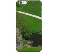 Dovedale Footpath from Thorpe Cloud iPhone Case/Skin