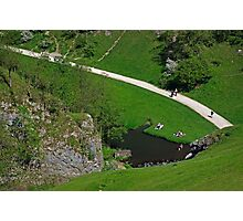 Dovedale Footpath from Thorpe Cloud Photographic Print