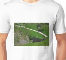 Dovedale Footpath from Thorpe Cloud Unisex T-Shirt