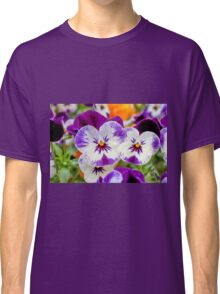 violet in the garden Classic T-Shirt