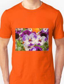 violet in the garden Unisex T-Shirt