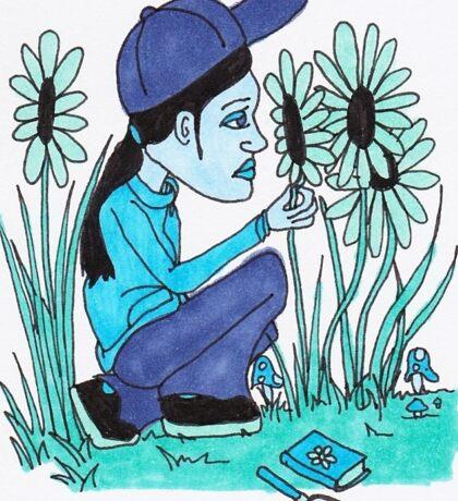 Color Kids - Blue Sticker