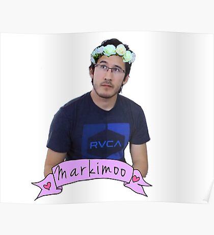 Markiplier (Level: Flower crown) Poster