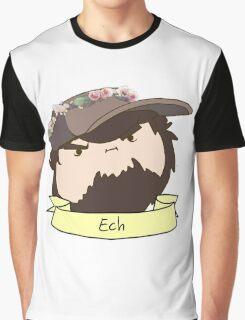JonTron: The Ech Flower Crown Graphic T-Shirt