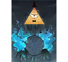 Bill Cipher Photographic Print
