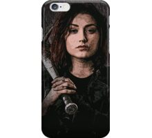 Z nation - Addison portrait iPhone Case/Skin