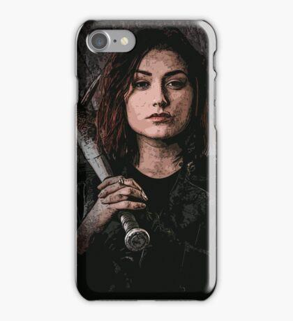 Z nation - Addison portrait iPhone Case/Skin