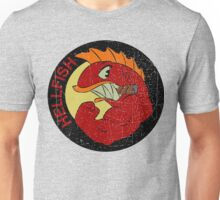 Flying Hellfish Unisex T-Shirt