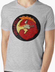 Flying Hellfish Mens V-Neck T-Shirt