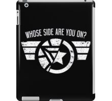 Who's side are you on? iPad Case/Skin