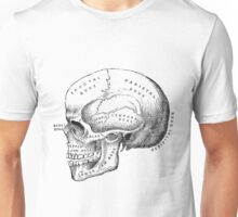 Vintage scientific illustration | Skull Unisex T-Shirt