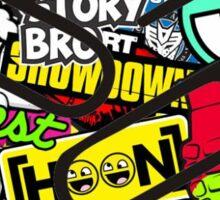 Sticker bomb Sticker