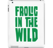 Frolic in the Wild, Green iPad Case/Skin