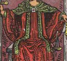 Tarot Card - Justice Sticker