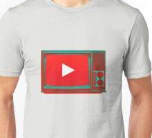 Youtube vintage tv Unisex T-Shirt