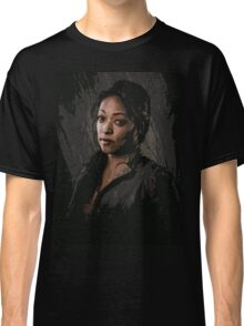Z Nation - Roberta Warren portrait Classic T-Shirt
